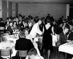 Formal Sunday dinner at USF, 1963