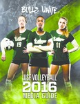 2016 Volleyball Media Guide by University of South Florida