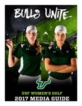 2017 Women's Golf Media Guide by University of South Florida