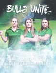 2016 Women's Golf Media Guide by University of South Florida